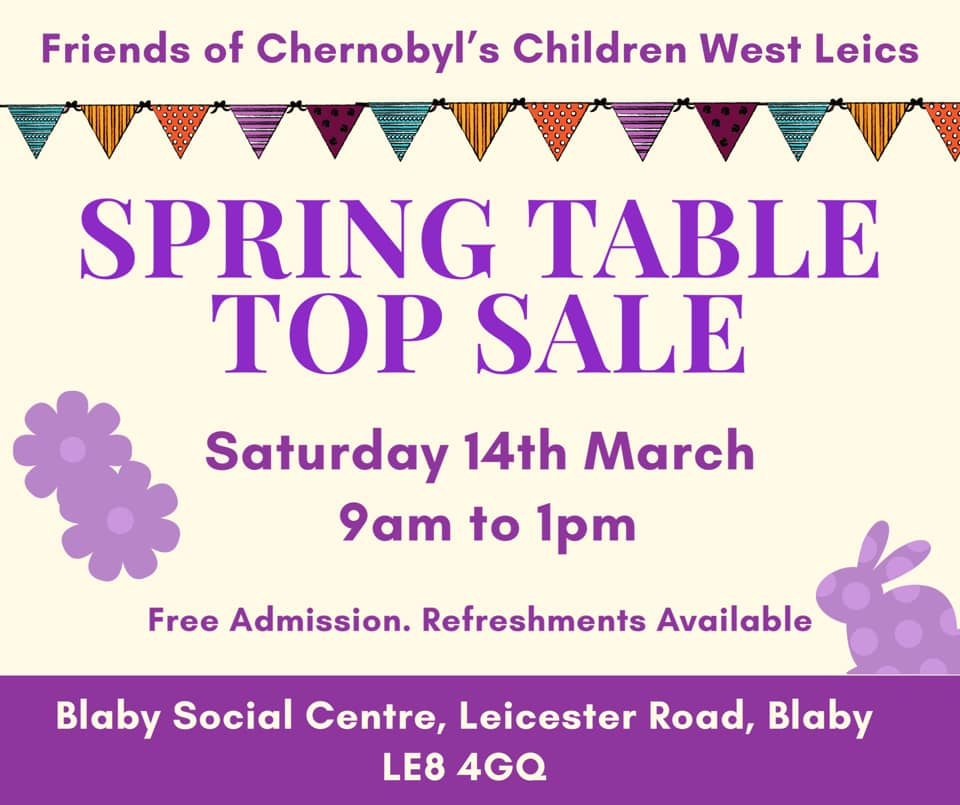 Spring Table Top Sale